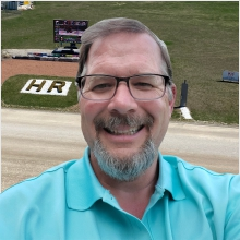 Rick Rier, Track Announcer